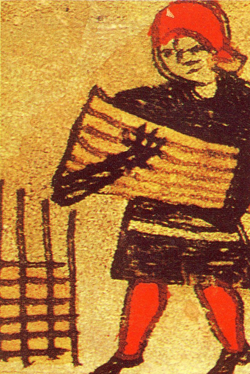 Bonden hegner sine marker 1513