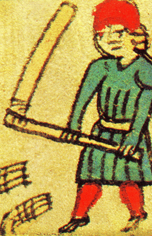 Bonden tærsker sit korn 1513