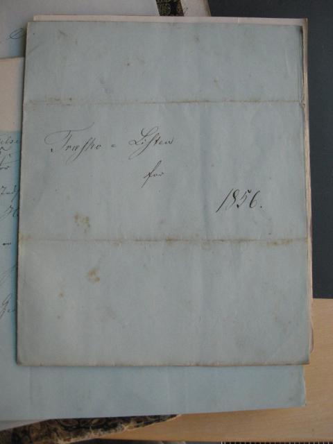 Træskoliste 1856