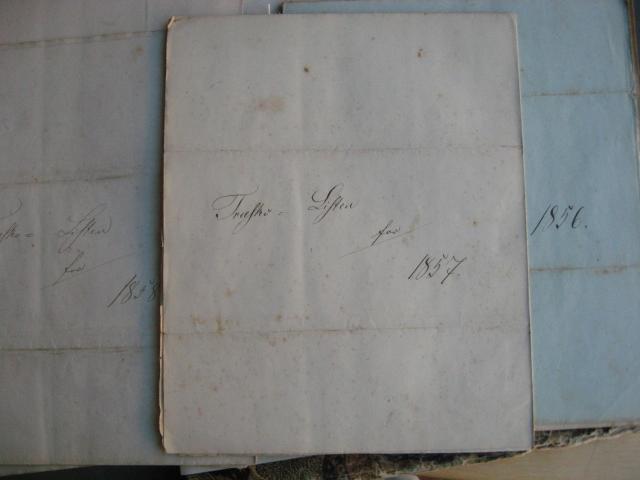 Træskoliste 1857