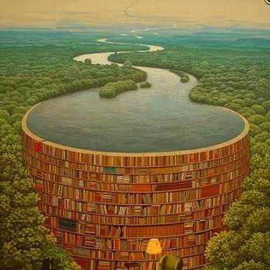 Bag en dæmning af bøger og arkivalier gemmer sig vigtig viden