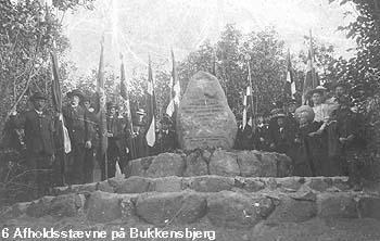 Afholdsstævne på Bukkenbjerg