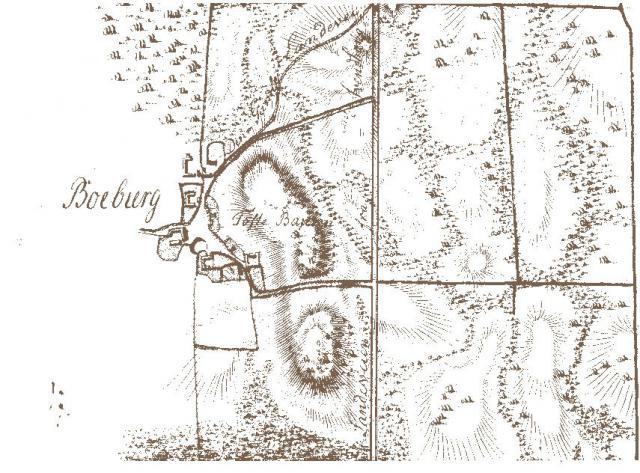 Bobjerg by ca 1795