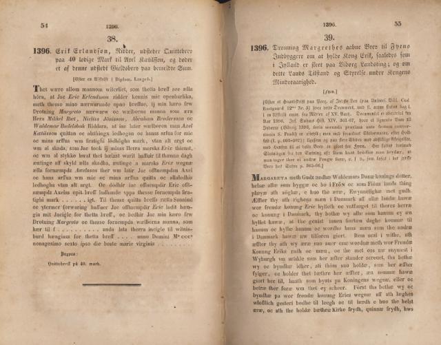 Åbent brev til fynboerne 1396