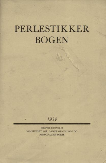 Perlestikker bogen