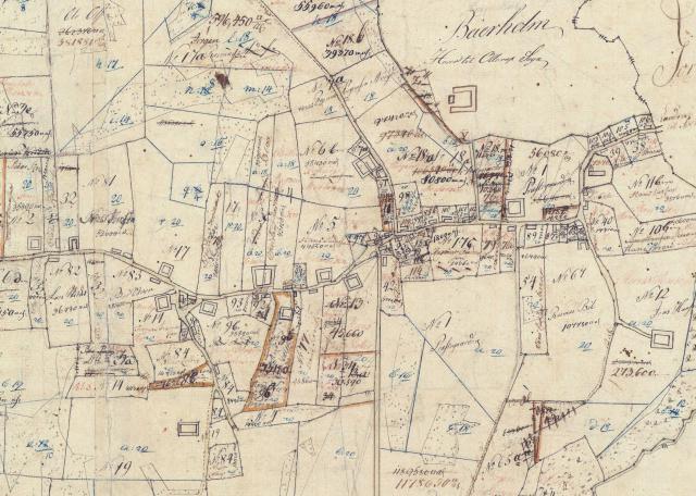 Udskiftningskort 1778 - Vester Skerninge