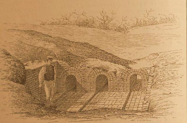 Middelalderlig teglovn ved Øksnebjerg