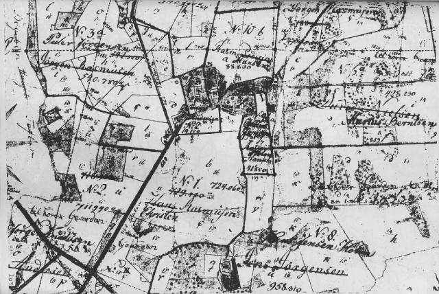 Gultved by - udskiftet 1786