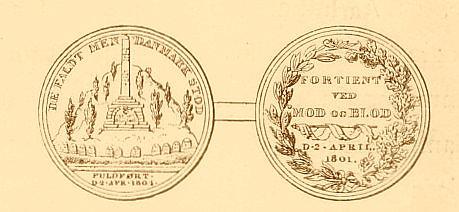 Medalje fra 1801