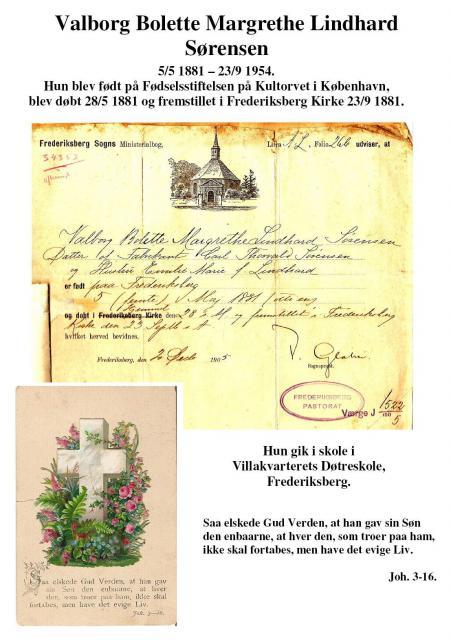 Konfirmation på Frederiksberg