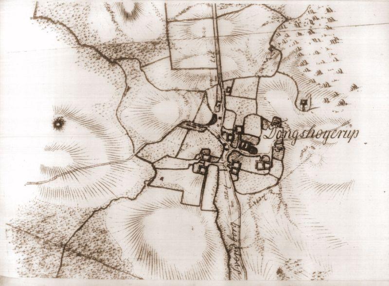 Dongshøjrup by ca 1795