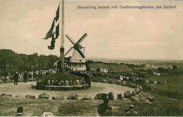 Genforenings festen på Dybbøl 1920