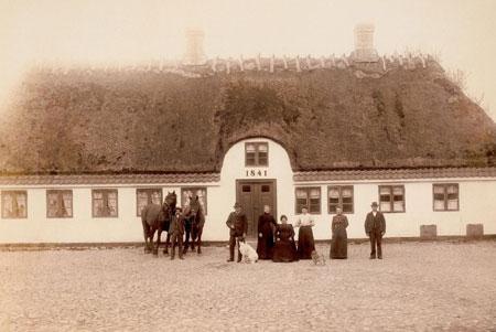 Kædeby Haver i december 1890