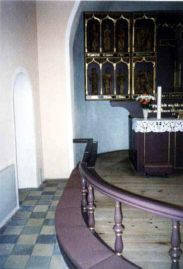 Lindelse kirke knæfaldet