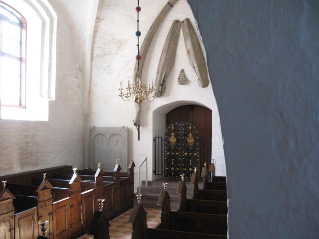 Kæber fra finhval i Middelfart kirke