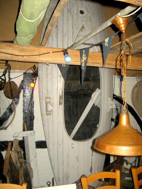 Drejø - fiskeri - båd bygget på Drejø