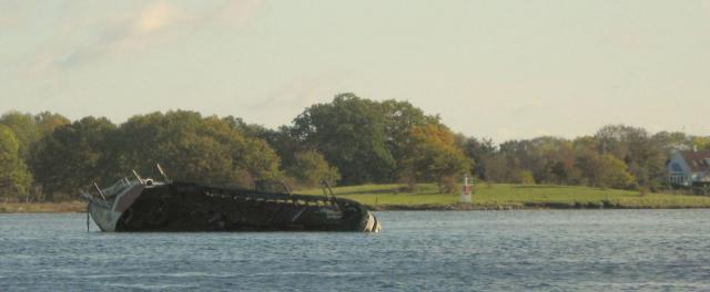 Skibsvrag i Svendborgsund