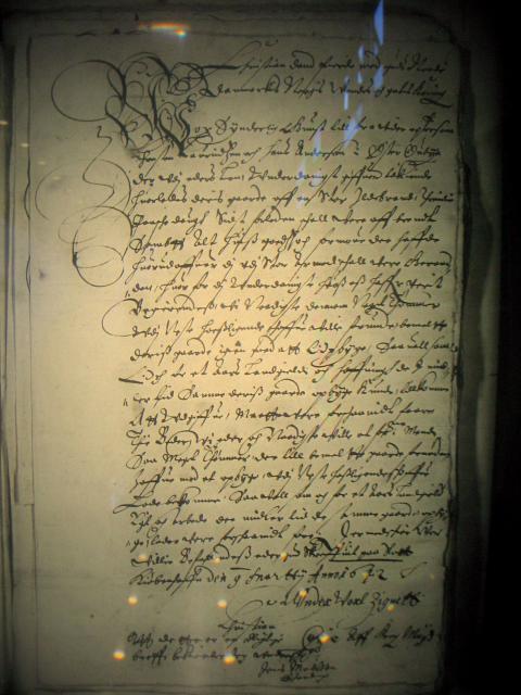Kopi af kongebrev 1642