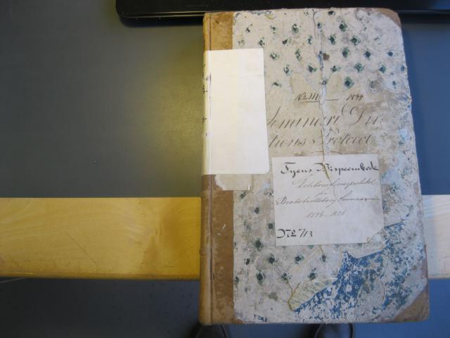 Brahetrolleborg Seminarium forhandlingsprotokol 1794-1826