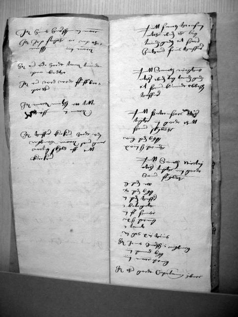 Nyborg kirke - alterliste 1537