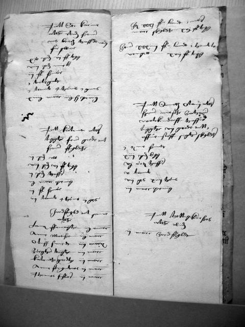 Nyborg kirke - alterliste 1537 (2)