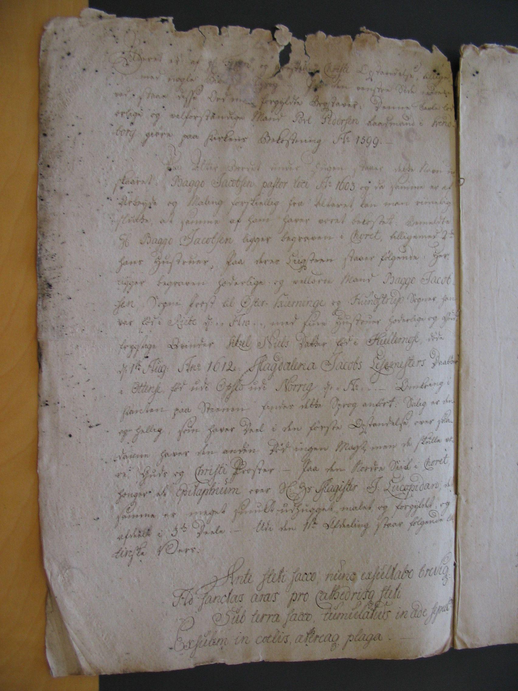 Øster Skerninge og Hundstrup sogne 1769 (2)