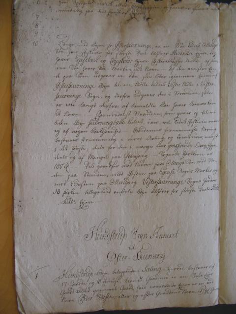 Øster Skerninge og Hundstrup sogne 1769 (6)
