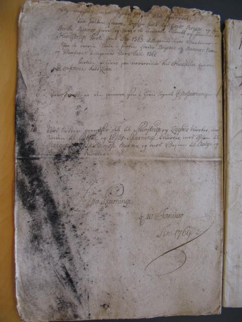 Øster Skerninge og Hundstrup sogne 1769 (12)