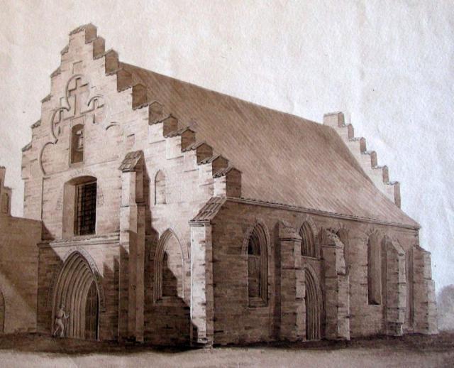 Svendborg Gråbrødre klosterkirke (nedbrudt 1828)