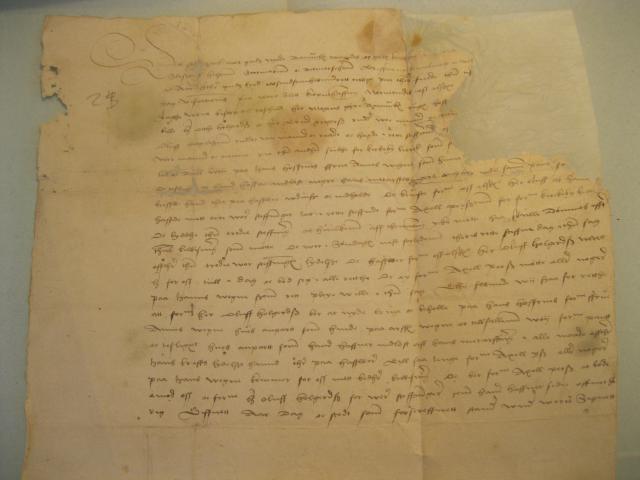 Arvesag om Kirkeby birk 28.6. ell. 5.7. 1524