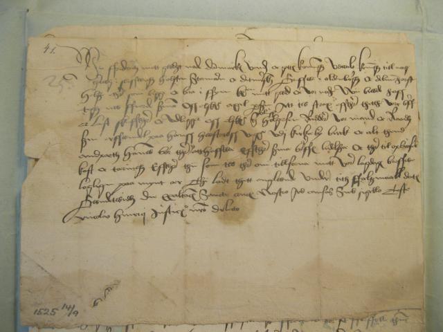 14.9. 1525 Arvesag om Kirkeby birk