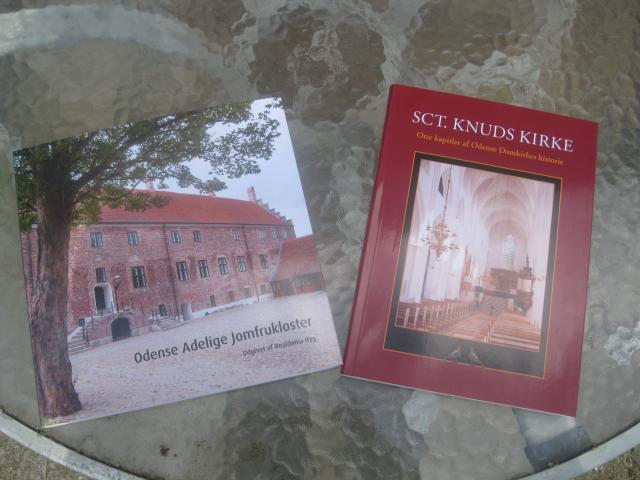2 vægtige bøger om Odenses middelalderhistorie