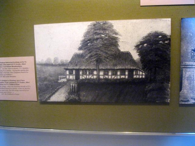 Carl Nielsens barndomshjem på Sortelung