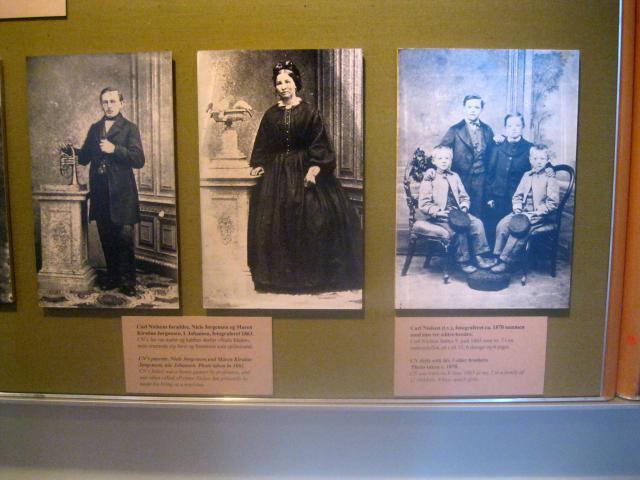 Carl Nielsen med søskende og forældre
