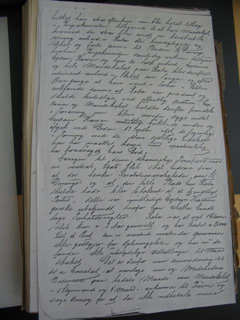 Skibsfører Anders Hansens papirer 1863-69 (3)