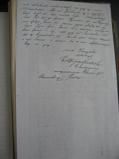 Skibsfører Anders Hansens papirer 1863-69 (4)