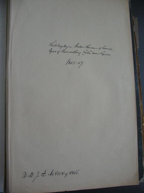 Skibsfører Anders Hansens papirer 1863-69 (5)