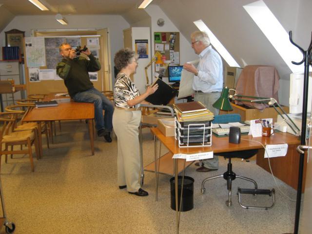 Stig Benzon foreviger Käthe og Jacob Bang Jensen med arkivet fra Lombjerge