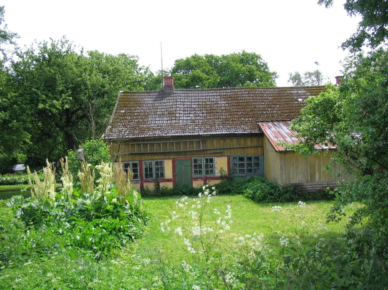 Marius Tømrers gamle værksted på Egebjerg Hede