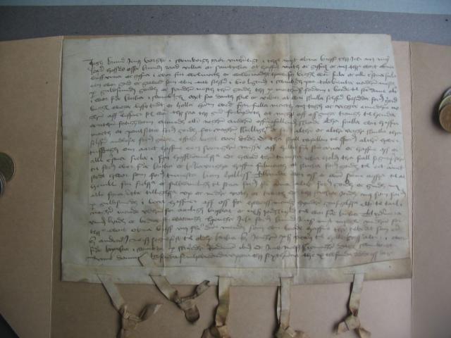 Gavebrev 22.6. 1516