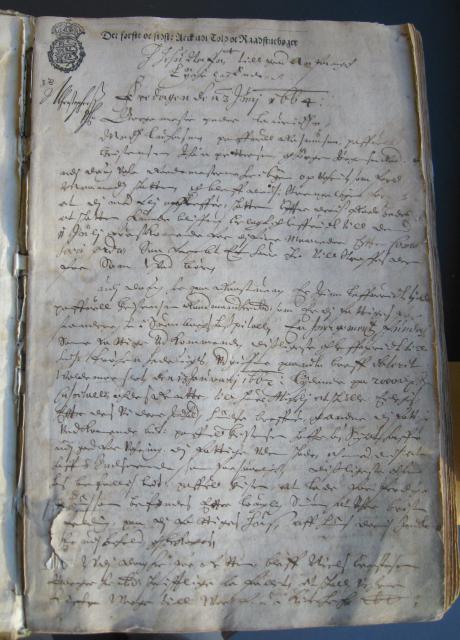 Svendborg Rådstue 1664