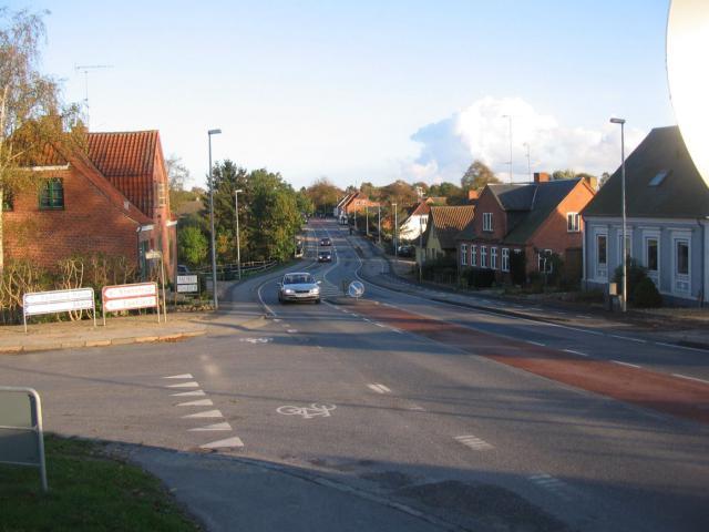 Svendborgvej i Ollerup