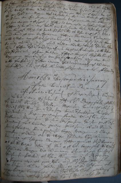 Svendborg Rådstue 1668