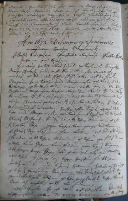 Svendborg Rådstue 1672