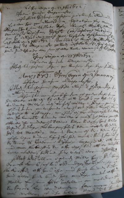 Svendborg Rådstue 1673