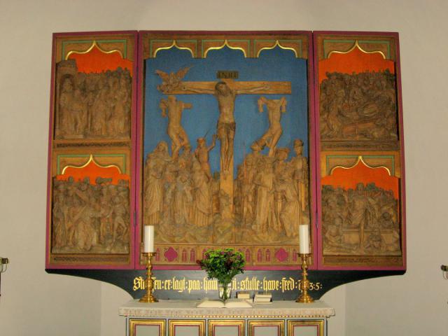 Altertavle Thurø kirke