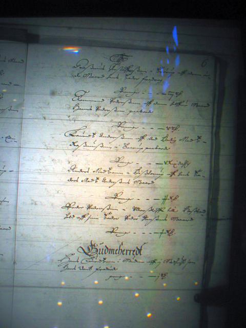 Fæste register Nyborg len 1658-61  Vindinge herred (3) og Gudme herred