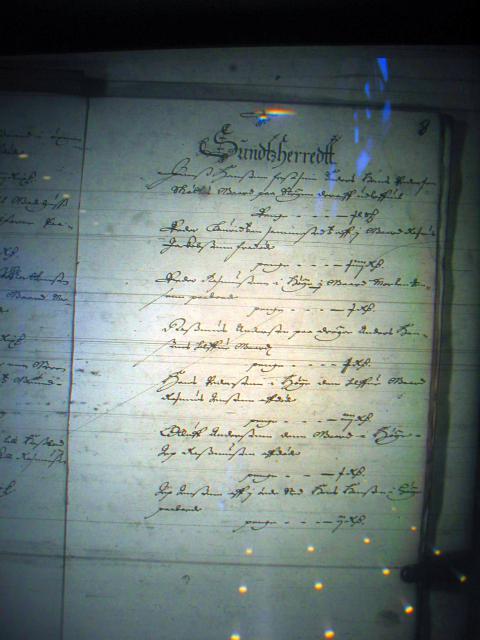 Fæste register Nyborg len 1658-61  Sunds herred