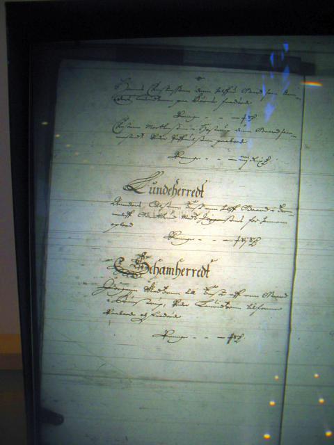 Fæste register Nyborg len 1658-61  Sallinge herred (2) Lunde og Skam herreder