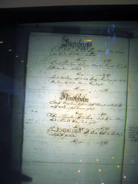 Fæste register Nyborg len 1658-61  Bjerge herred og Hindsholm